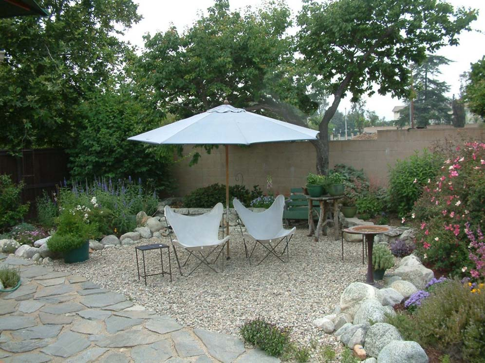 Gravel Patio on Patio And Gravel Garden Ideas id=65852