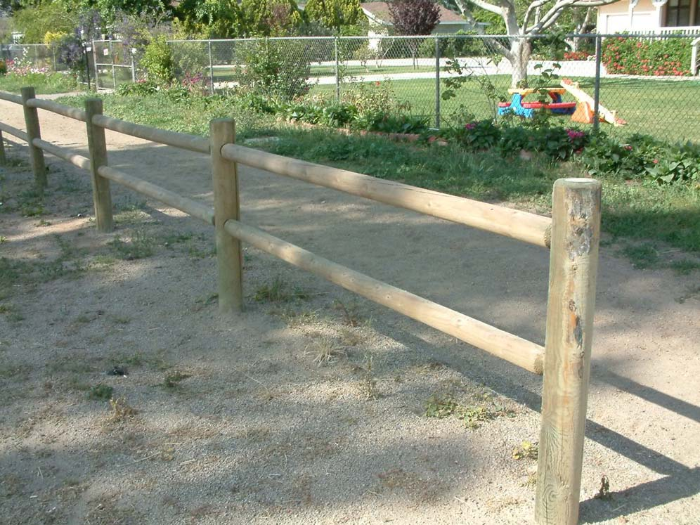 Ranch Style Post Fence