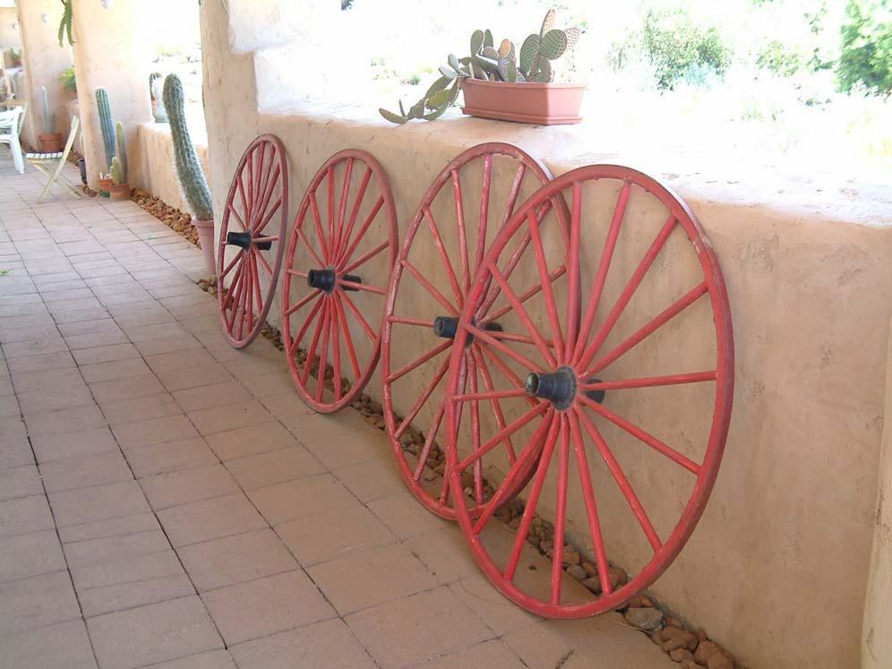 west wagon wheel adobe entry